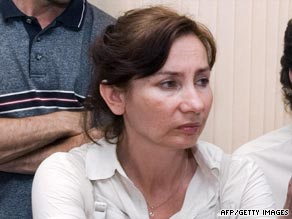 Natalya Estemirova, pictured in 2007, had been openly critical of Chechnya's president, Ramzan Kadyrov.