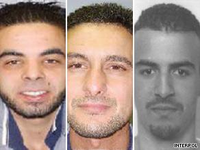 Mohammed Johry, Abdel Had Kahjary Mulloul and Ashraf Sekkaki escaped a Belgium prison.