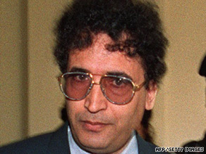 Convicted bomber Abdelbeset Ali Mohmed al Megrahi, pictured in 1992, has terminal prostate cancer.