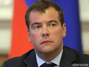 Russian President Dmitry Medvedev sent two government representatives to the accident site.