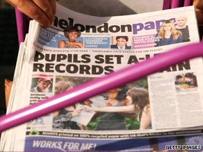 The Londonpaper, one of three free publications circulated in the British capital, is to close.