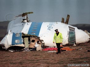 The Lockerbie plane bombing in 1988 killed 270 people.