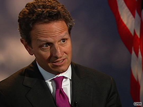 "U.S. Treasury Secretary Timothy Geithner says Saturday that stimulus efforts will cease ""when it's appropriate."""