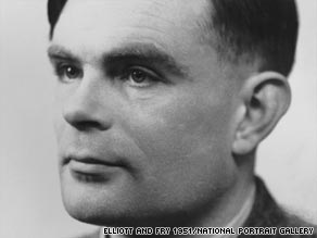 A portrait of Alan Turing is currently on display at the National Portrait Gallery's