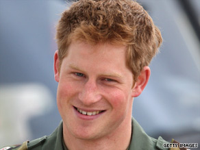 Prince Harry is currently training to become a helicopter pilot with the British Army.