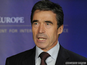New NATO Secretary General Anders Fogh Rasmussen