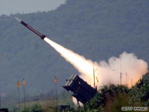 The Turkish military says it's considering buying U.S.-made Patriot missile systems.