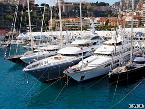 The Monaco Yacht Show is considered the premier luxury yacht event of the year.