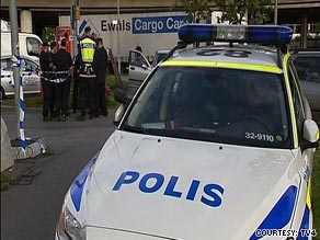TV4 reported that the G4S cash depot serves automatic teller machines across Stockholm.