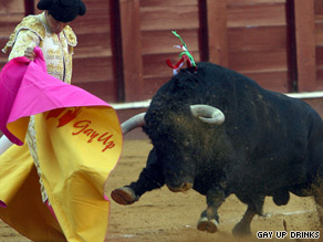 Matador Joselito Ortega in an exhibition fight on Sept. 23 in the southern Spanish city of Malaga.