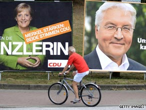 Germans are voting this weekend in their national elections.