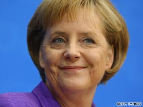"Angela Merkel has pledged to be ""a Chancellor for all Germans""."