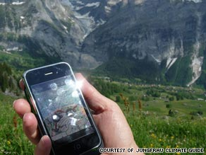 The Jungfrau Climate Guide is helping tourists to the Swiss alps learn about climate change.