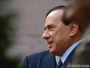 Berlusconi remains a popular leader among Italians with approval ratings over 50 percent.