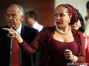 Human rights activist and physician Sima Samar of Afghanistan is the U.N. special envoy to Darfur in Africa.