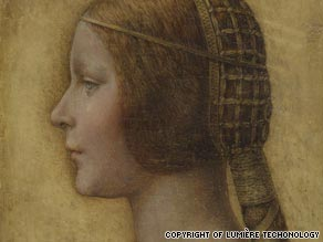 "Da Vinci expert Martin Kemp has renamed the work, ""La Bella Principessa."""