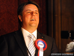 "BNP leader Nick Griffin, in a Web site video last week, said the rights commission was trying ""to bleed us dry."""