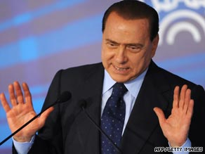Silvio Berlusconi has refuted the claims made by the Times newspaper as baseless.