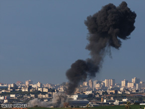 Qassam missiles launch Friday from Hamas-controlled Gaza.