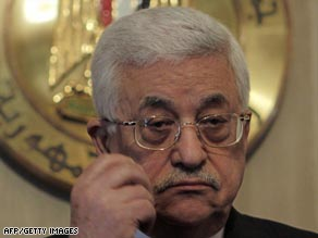 Palestinian President Mahmoud Abbas will meet the EU delegation on Monday.