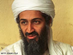 Osama bin Laden, in an undated photo, apparently taped a message calling for jihad against Israel.