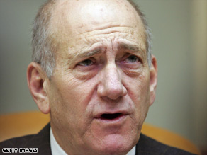 "The airstrikes follow Israeli Prime Minister Ehud Olmert's warning of a ""sharp Israeli response"" to rocket attacks."