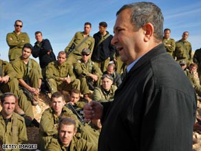 Barak was the most decoarted soldier in Israeli history on his retirement from the military in 1995.