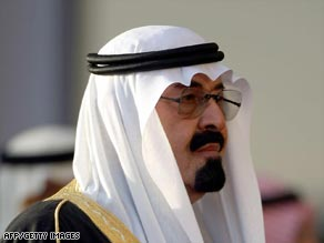 Saudi King Abdullah made more than one noteable appointment to his council of ministers.