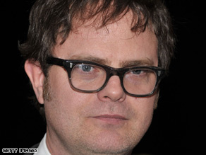 Rainn Wilson says fellow members of his Baha'i faith are being persecuted in Iran.