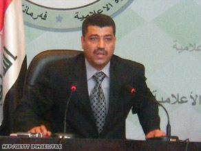 Iraqi lawmaker Mohammed al-Daini, seen here in November, denies the allegations.