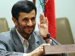Iran's Mahmoud Ahmadinejad has welcomed President Obama's new policies. Will the favor be returned?