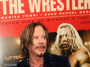 """The Wrestler,"" starring Mickey Rourke was also attacked for being insulting towards Iran."