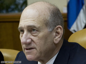 Iran is reported to have called for the arrest of PM Ehud Olmert on war crimes charges for Israel's Gaza offensive.