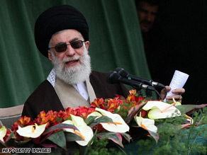 Ayatollah Khamenei said Iran would change its policy when the U.S. did so as well.