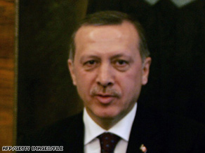 "Turkish Prime Minister Recep Tayyip Erdogan says he's ""positive"" on the idea of U.S. troops crossing his country."
