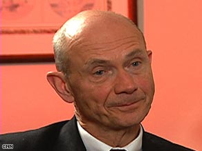 Pascal Lamy, Director-General of the WTO speaks to MME about protectionism and the G-20.