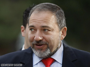 "Police say Avigdor Lieberman was interviewed ""under warning"" on suspicion of bribery, money-laundering and fraud."
