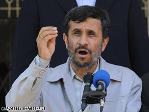 Iranian President Mahmoud Ahmadinejad reportedly will comment on the country's nuclear program this week.
