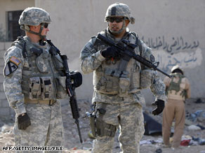 U.S. troops have a deadline of June 30 to exit major Iraqi cities.