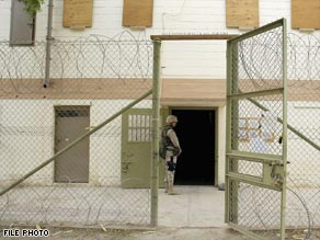 The abuse that went on behind these gates hardened Arab opinion against the United States.