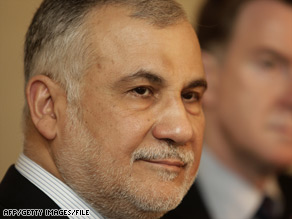 Abdul Falah al-Sudani resigned as Iraq's trade minister under allegations of corruption.