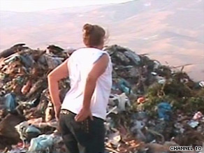 A woman scours a garbage heap in Tel Aviv for her mother's missing mattress.