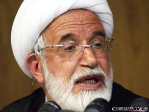 Iranian cleric Mehdi Karroubi, 72, is vying for the presidency.