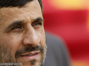 Mahmoud Ahmadinejad, who came to power in 2005, now has a second term in office.