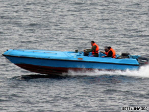 An incident involving Iranian speed boats and U.S. warships raised maritime tensions in 2008.