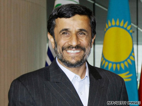President Mahmoud Ahmadinejad complained Thursday that earlier comments had been taken out of context.