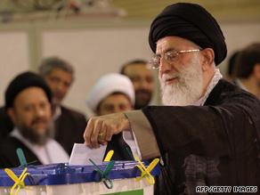 Ayatollah Ali Khamenei became a political activist while a religious scholar studying under Ayatollah Ruhollah Khomeini