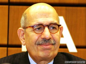 Mohamed ElBaradei, the IAEA's director-general, believes Iran wants nuclear weapon technology.