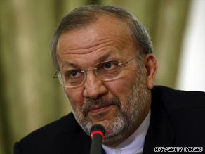 Iranian Foreign Minister Manouchehr Mottaki says the possibility of vote rigging is almost nonexistent.