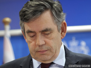 Gordon Brown's comments on Iran have been muted despite sharp attacks on the UK.